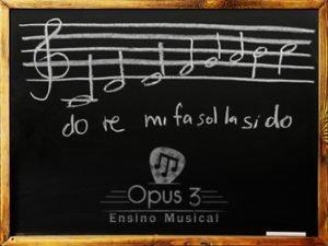 Fa?a uma Aula Experimental Gr?tis na Opus 3 | Ensino Musical
