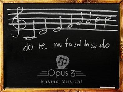 Faça uma Aula Experimental Grátis na Opus 3 | Ensino Musical